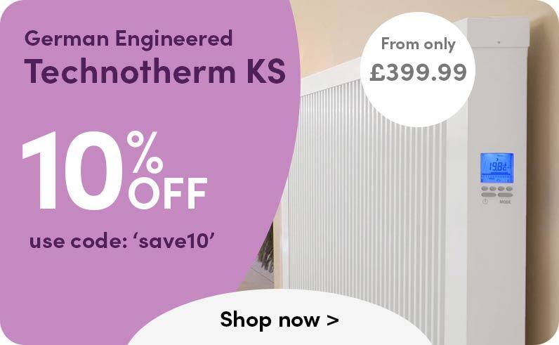 German engineered Technotherm KS from only 399.99