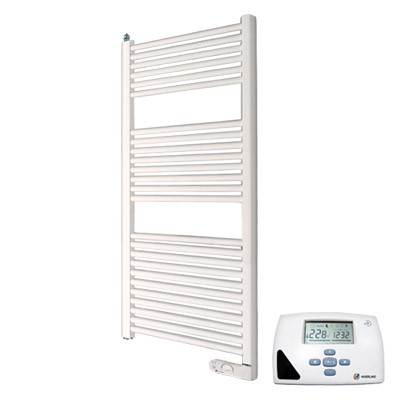 Haverland Designer TE700i Heated Electric Towel Rail - 700w with Remote