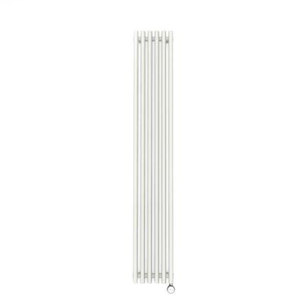 Terma Tune E Vertical Designer Electric Radiator - White 1000w
