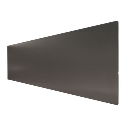 Technotherm ISP Design Glass Infrared Heating Panels - Black 690mm