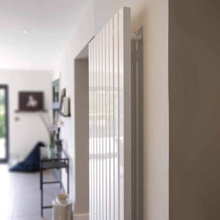 Ecostrad Adesso iQ WiFi Vertical Designer Electric Radiators – White