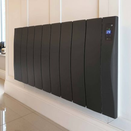 Haverland SmartWave Self-Programming Electric Radiators - Anthracite