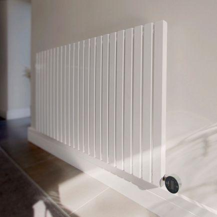Ecostrad Adesso iQ WiFi Designer Electric Radiators - White