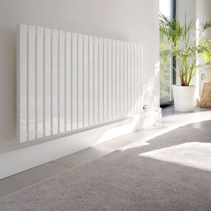 Ecostrad Adesso Designer Electric Radiators - White
