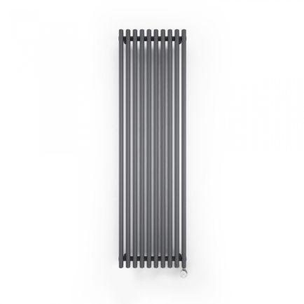 Terma Tune E Vertical Designer Electric Radiator - Anthracite 600w