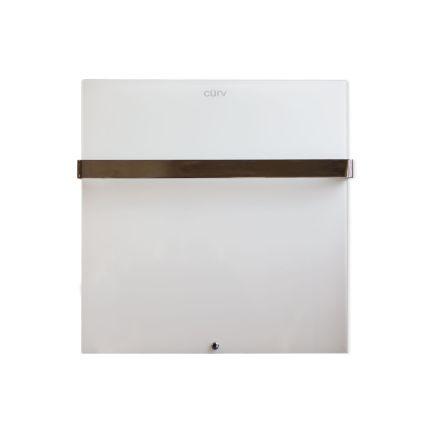Cürv Infrared Towel Rail - White 275w (600 x 600mm)