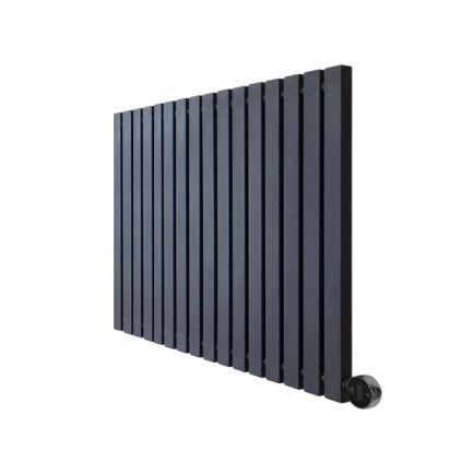 Ecostrad Adesso iQ WiFi Designer Electric Radiator - Black 800w (790 x 600mm)