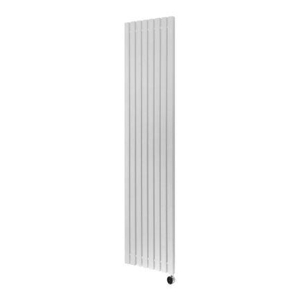 Ecostrad Adesso iQ WiFi Vertical Designer Electric Radiator - White 1000w (390 x 1600mm)