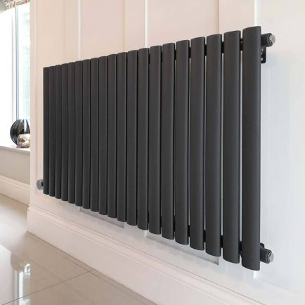 Ecostrad Allora Designer Electric Radiators - Anthracite