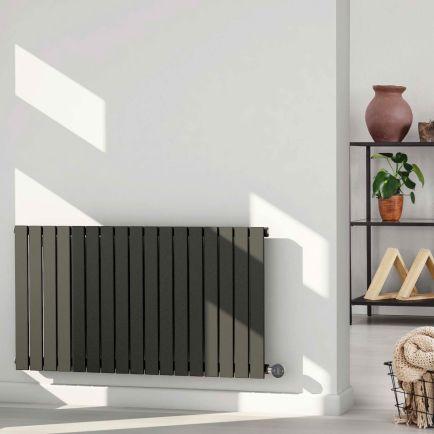 Ecostrad Ascoli iQ WiFi Designer Electric Radiators - Anthracite