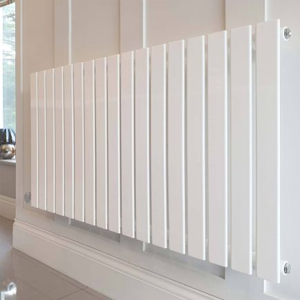 Ecostrad Ascoli Designer Electric Radiator - White