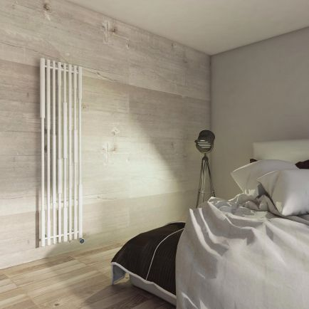 Terma Cane E Vertical Designer Electric Radiators - White