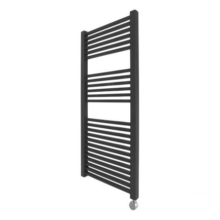Ecostrad Cube Bluetooth Electric Towel Rail - Anthracite 600w