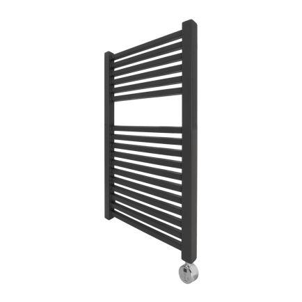 Ecostrad Cube Thermostatic Towel Rail - Anthracite 400w