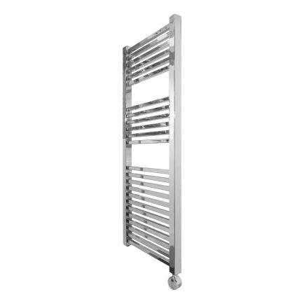 Ecostrad Cube Thermostatic Towel Rail – Chrome 600w