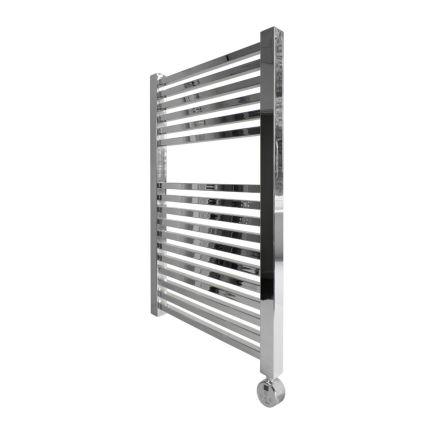 Ecostrad Cube Thermostatic Towel Rail - Chrome 400w