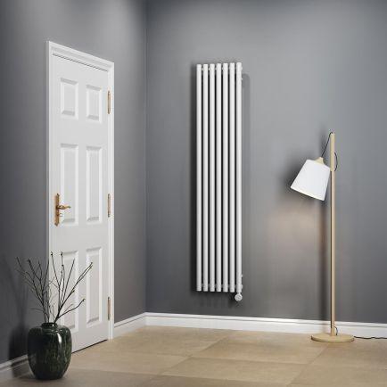 Terma Rolo E Vertical Designer Electric Radiators - White