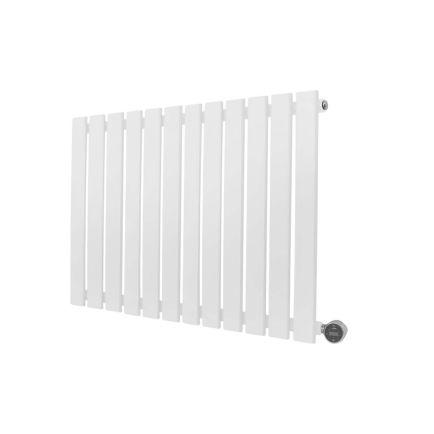 Ecostrad Ascoli iQ WiFi Designer Electric Radiator - White 800w (840 x 635m)