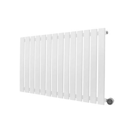 Ecostrad Ascoli iQ WiFi Designer Electric Radiator - White 800w (980 x 635m)