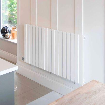 Ecostrad Ascoli iQ WiFi Designer Electric Radiators - White