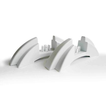 Ecostrad iQ Ceramic Feet - White