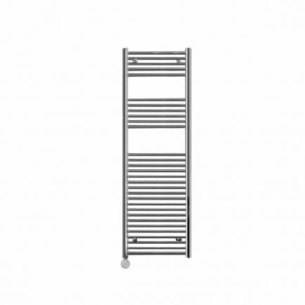 Ecostrad Fina-E Blue Smart Electric Towel Rail - Chrome 600w (500 x 1500mm)