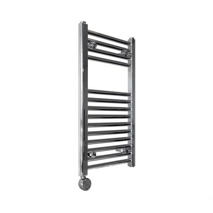 Ecostrad Fina-E Blue Smart Electric Towel Rail - Chrome 200w (400 x 700mm)