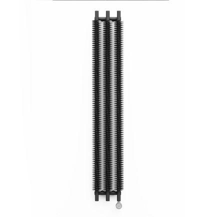 Terma Ribbon V E Vertical Designer Electric Radiator - Grey 600w