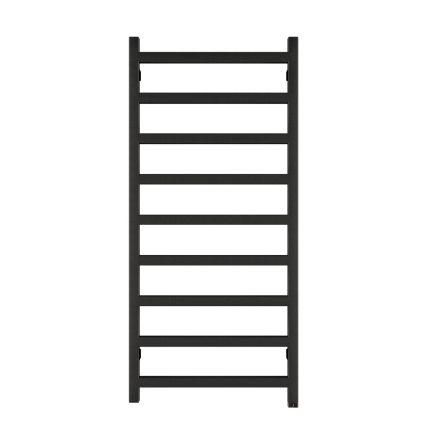 Terma Simple ONE Designer Electric Towel Rail - Black 400w (500 x 1080mm)