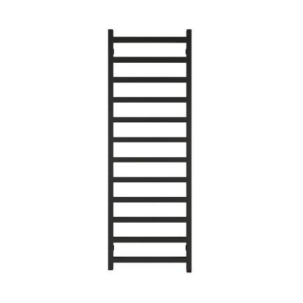 Terma Simple ONE Designer Electric Towel Rail - Black 600w (500 x 1440mm)