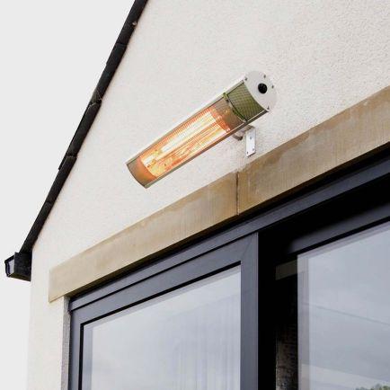 Ecostrad iQ Solis WiFi Infrared Patio Heater - Silver 2kW