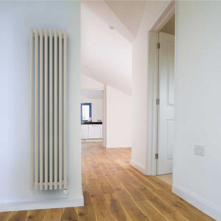 Terma Tune E Vertical Designer Electric Radiators - White