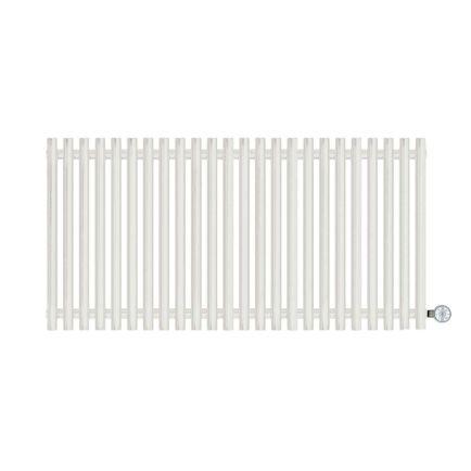 Terma Tune E Designer Electric Radiator - White 1000w (1190 x 600mm)
