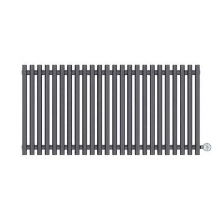Terma Tune E Designer Electric Radiator - Anthracite 1000w (1190 x 600mm)
