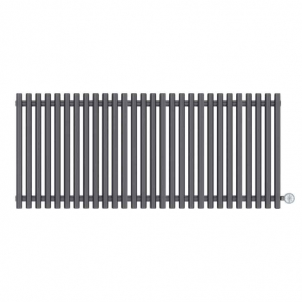 Terma Tune E Designer Electric Radiator - Anthracite 1000w (1390 x 600mm)