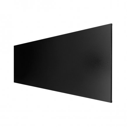 Technotherm ISP Frameless Infrared Heating Panel - Black 500w (1200 x 400mm)