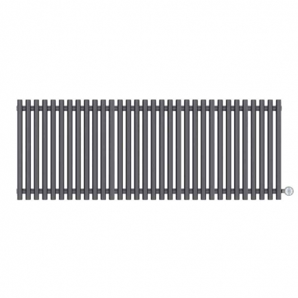 Terma Tune E Designer Electric Radiator - Anthracite 1200w (1590 x 600mm)