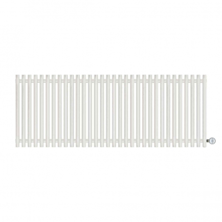 Terma Tune E Designer Electric Radiator - White 1200w (1590 x 600mm)