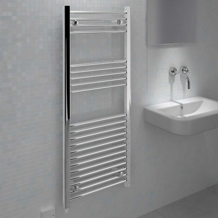 Ecostrad Fina-E LST Electric Towel Rail - Chrome 70w (500 x 1200mm)