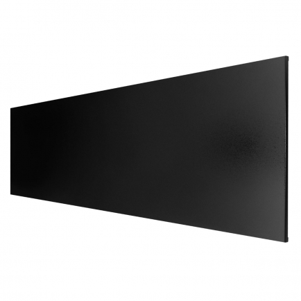 Technotherm ISP Frameless Infrared Heating Panel - Black 650w (1500 x 400mm)
