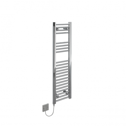 Ecostrad Fina-E Electric Towel Rail - Chrome 150w (300 x 1100mm)