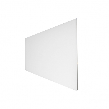 Technotherm ISP Design Glass Infrared Heating Panel - White 350w (1050 x 454mm)