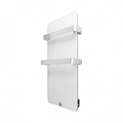 Ecostrad Magnum Heated Electric Towel Rail - White 600w (580 x 1090mm)