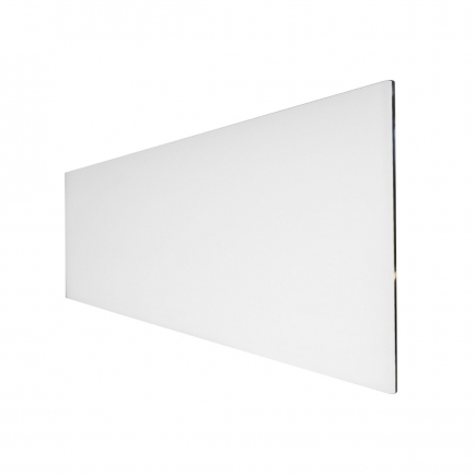 Technotherm ISP Design Glass Infrared Heating Panel - White 500w (1350 x 454mm)