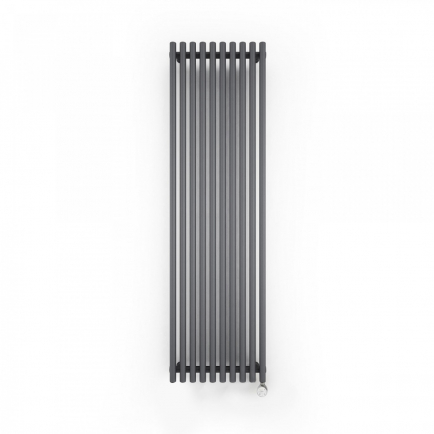 Terma Tune E Vertical Designer Electric Radiator - Anthracite 600w
