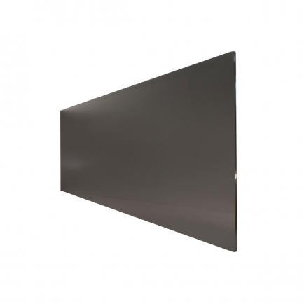 Technotherm ISP Design Glass Infrared Heating Panel - Black 750w (1330 x 690mm)