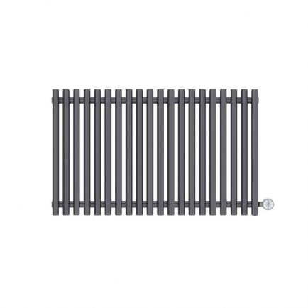 Terma Tune E Designer Electric Radiator - Anthracite 800w (990 x 600mm)