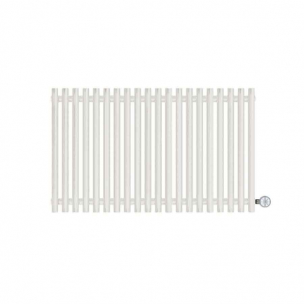 Terma Tune E Designer Electric Radiator - White 800w (990 x 600mm)