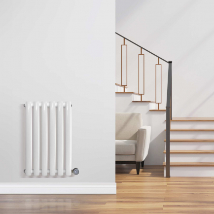 Ecostrad Allora Designer Electric Radiators - White