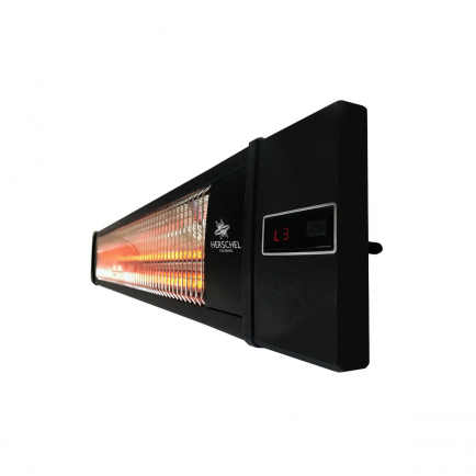 Herschel Colorado Infrared Heater - Black 2.5kW with Remote